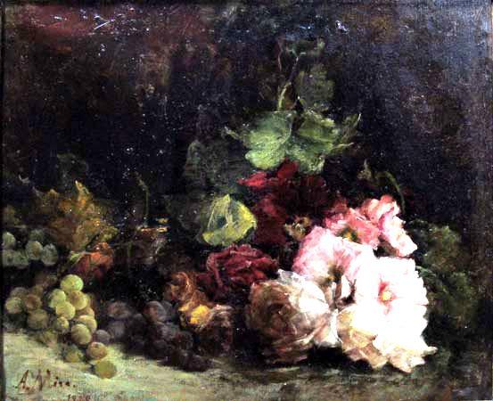 Mujeres pintoras magdalena mira 1859 1930 y aurora mira - Donde estudiar pintura ...