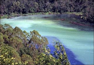 Telaga Warna - Wisata Dieng - Wisata di Dataran Tinggi Wonosobo, Jawa Tengah