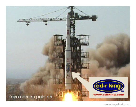 CD-R King Fails North Korea Rocket Launch