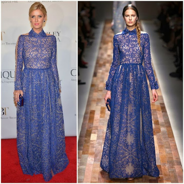 Nicky Hilton in Valentino( Fall 2013) – American Ballet Theatre 2013 Opening Night Fall Gala