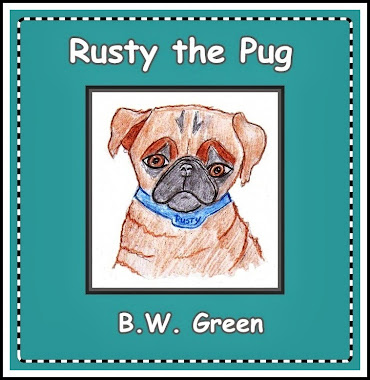 My New E-Book - Rusty the Pug
