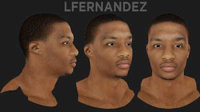 NBA 2K13 Damian Lillard Cyberface Mod