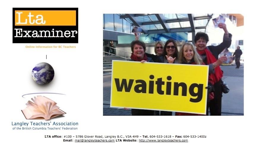 LTA Examiner - Online Information for BC Teachers