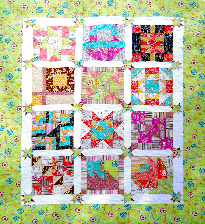 Layer Cake Quilt As You Go : Moose on the Porch Quilts: Layer Cake Finishing Instructions