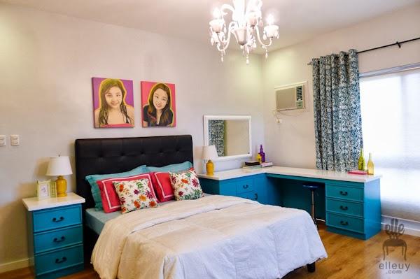 Decoracao De Quarto Pequeno Colorido ~ Ela refez um quarto feminino bem colorido e cheio de vida Gostei