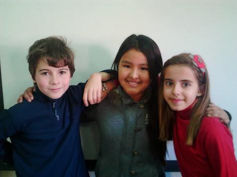 Marta, Lis y Edu