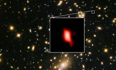 """کشف شواهد ستارهزاییهای آتشین در """"سپیدهدم کیهان"""""""