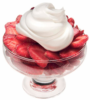 Every Day Is Special: May 21, 2013 - Strawberries and Cream Day