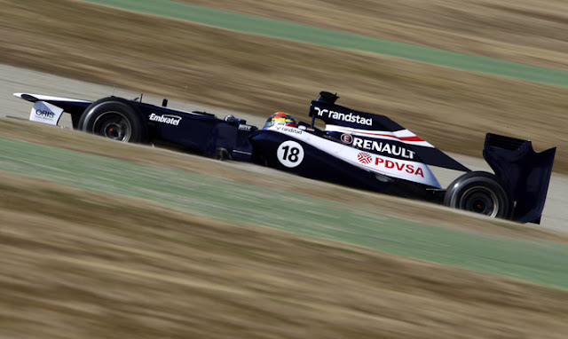 Williams-Renault de Pastor Maldonado