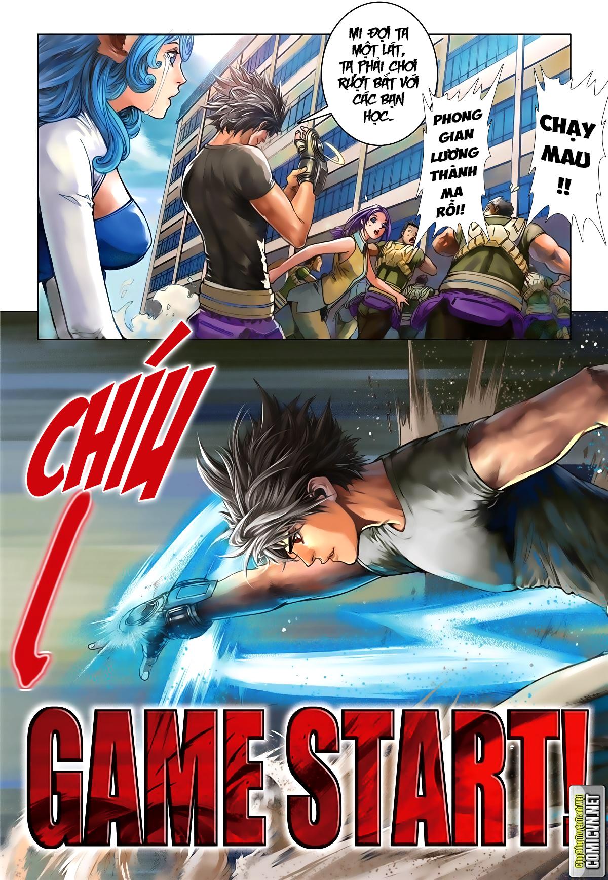 Tái Tạo Không Gian Chap 15 - Next Chap 16