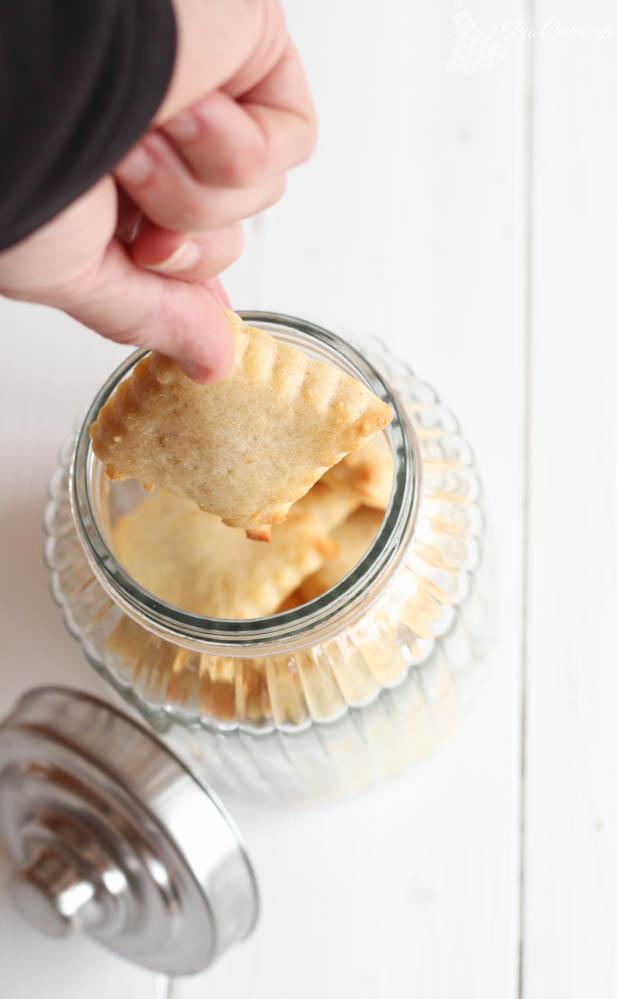 como hacer galletas de queso
