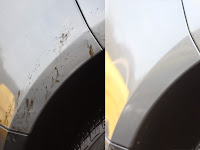 Easy Way to Eliminate Asphalt Stains on the Car