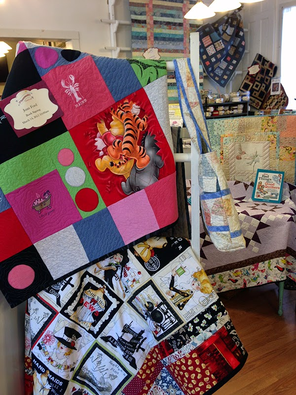 When Bad things happen to good quilters book projects