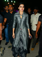 Samantha at Rajendra Prasad song wedding reception-cover-photo