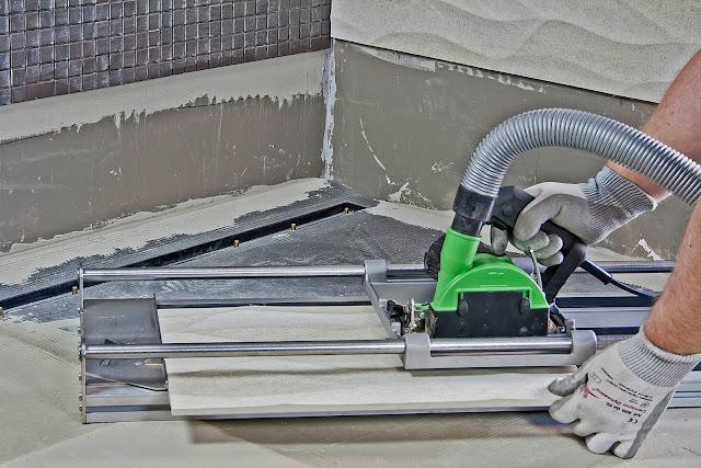 Bàn cắt/ ray dẫn hướng cho máy cưa, cắt gạch ETT 700 và ETT 1200
