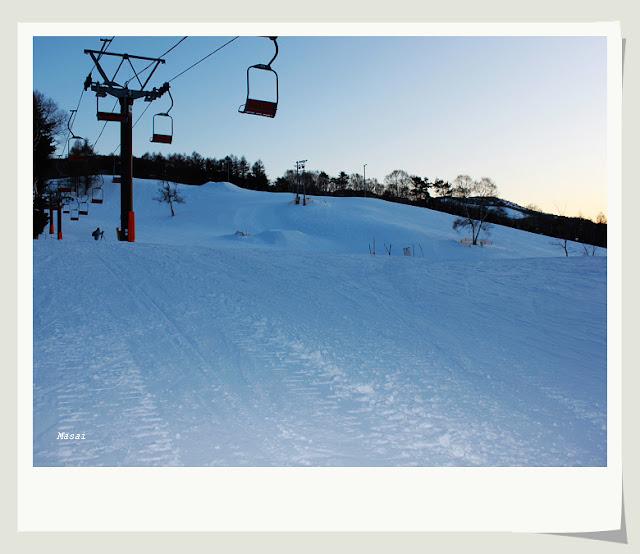 北陸合掌村 白樺湖池之平飯店 滑雪