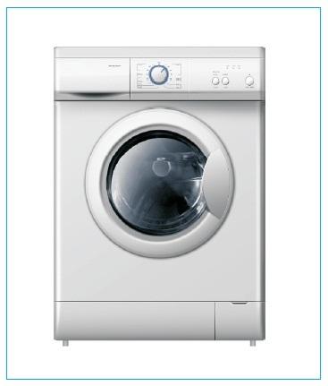 cara kerja mesin cuci front loading pada dasarnya sama dengan mesin
