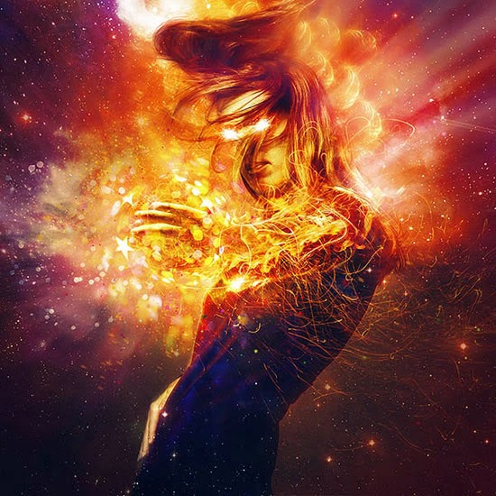 Create Cosmic Lighting Effects