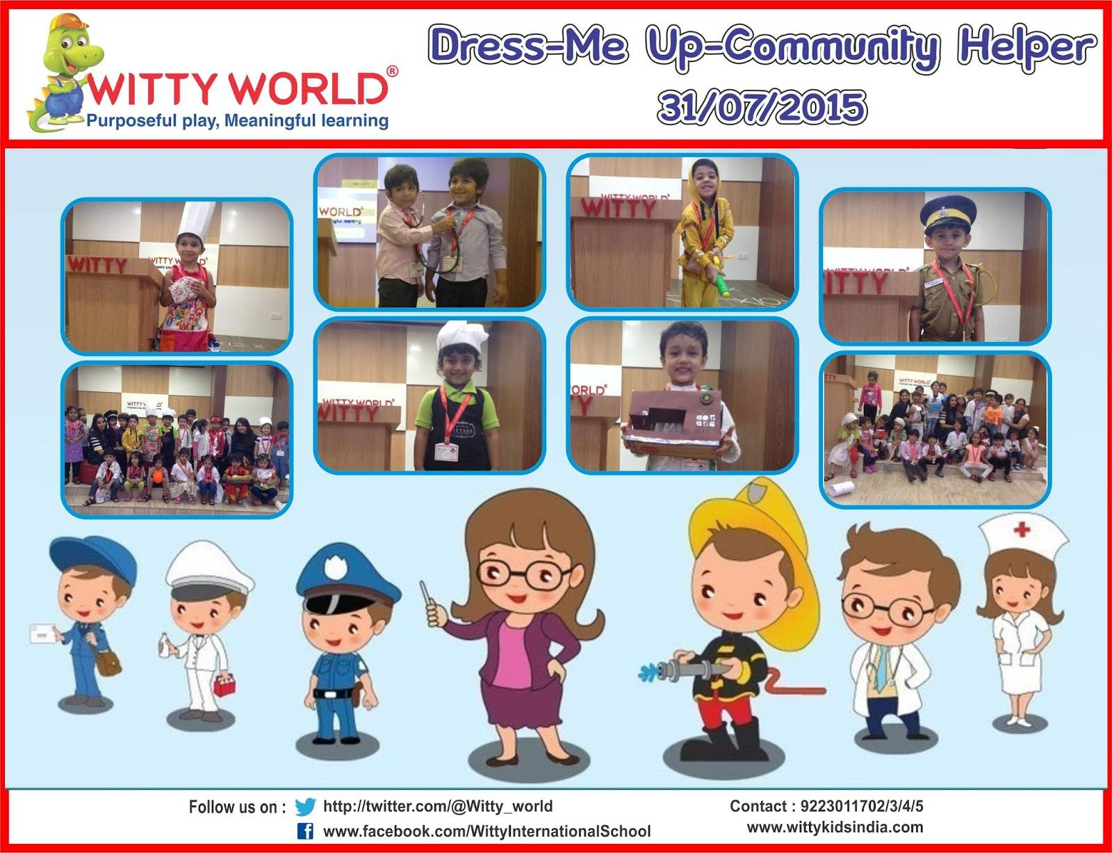 on the top of the world dress me up for community helper jr