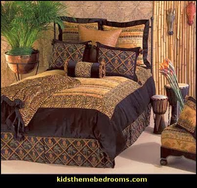 Decorating theme bedrooms maries manor african for Animal themed bedroom ideas