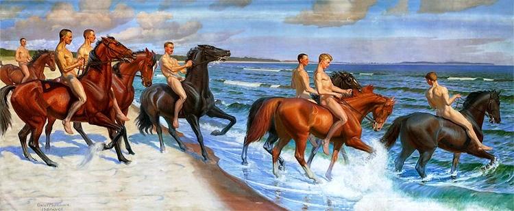 """Riders At The Sea"""