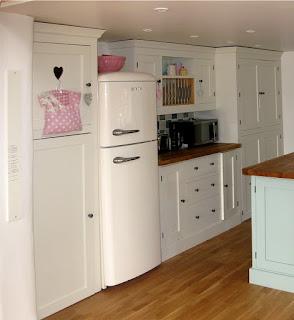 pegasus pine furniture Northampton, made to measure kitchens, tall fridge, handpainted kitchens units, Northampton furniture