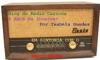 Novo blog na web: Rádio Nacional Paixão Clube - Rio de Janeiro / Isabela Guedes