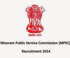 MPSC Mizoram Employment News