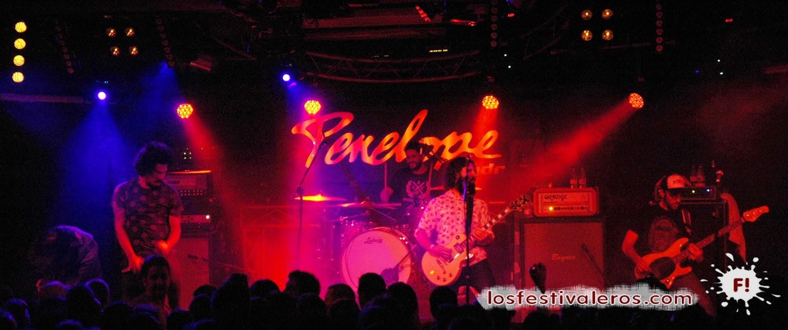 Desakato, Sala Penélope, Concierto, Madrid, rock