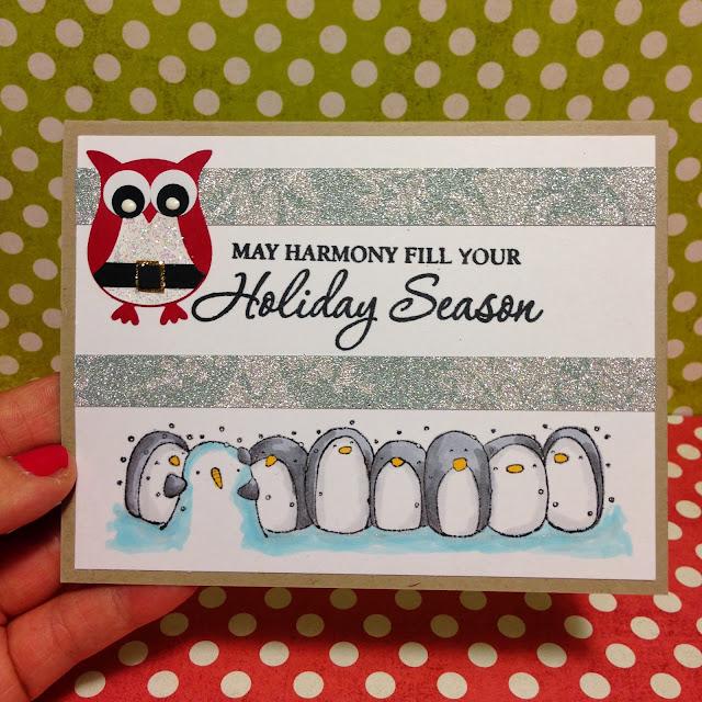 Christmas-card-penguin-family-friends-santa-owl