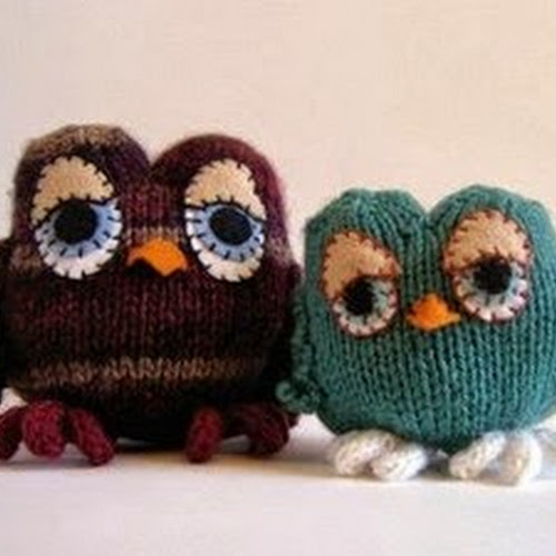 Disney Knitting Patterns Free : Owl Toy Knitting Pattern images