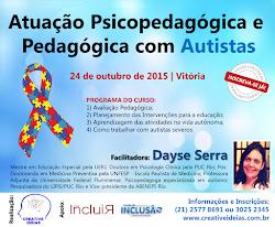 Curso Atuação Psicopedagógica e Pedagógica com Autistas ES
