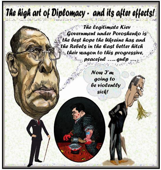 Cartoon Lavrov