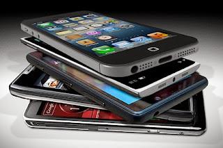 Mana satu handphone idaman ni yea, smartphone,