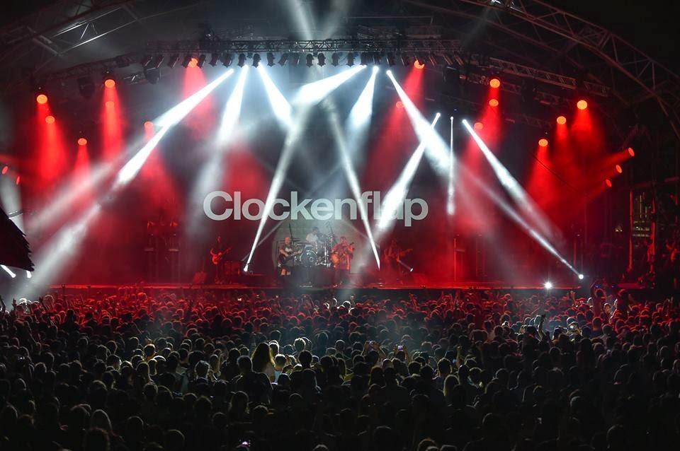 Hong Kong Music Festival 2014 Clockenflap featuring Mogwai