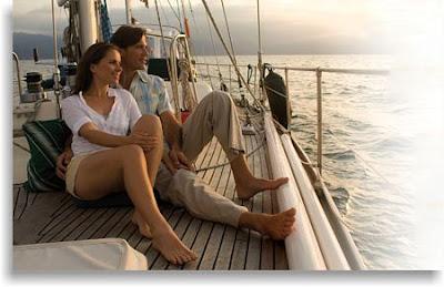 imagen de amor en el océano