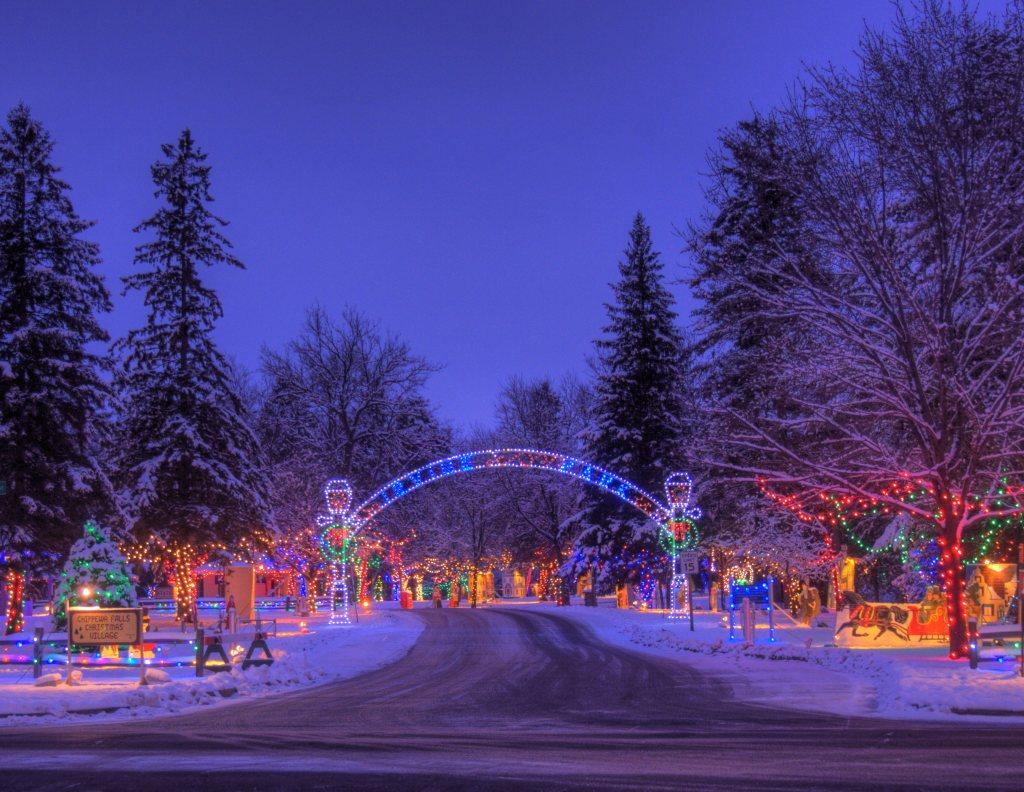 Irvine Park Christmas Village