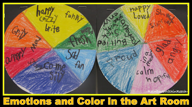 photo of: Color Wheel: Colors Associated with Emotions via RainbowsWithinReach