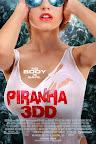 Piranha 3DD, Poster