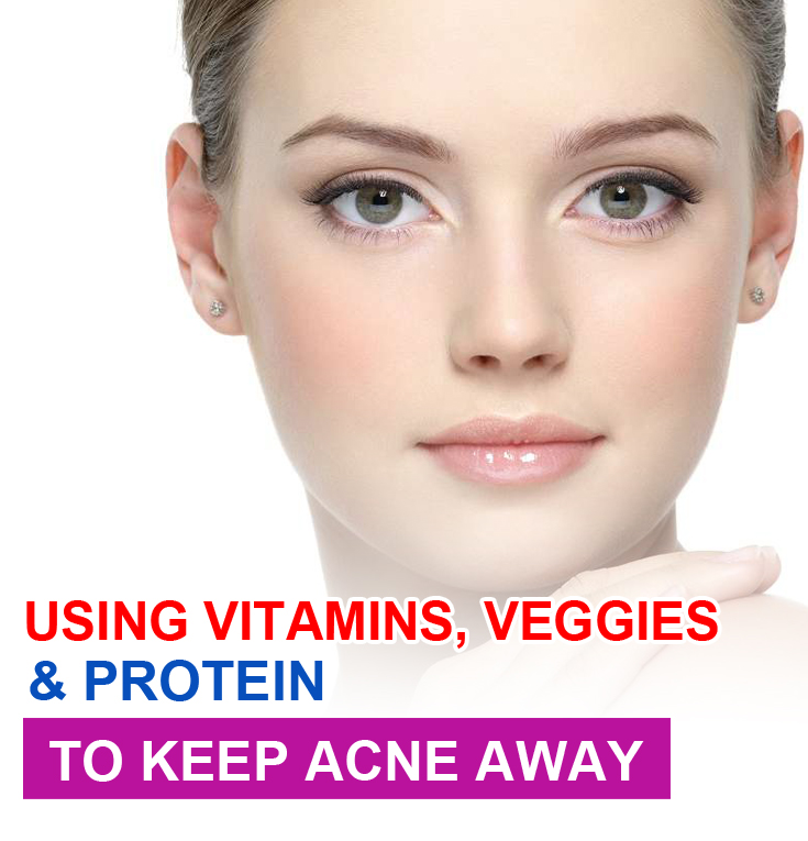 Vitamins for acne scars