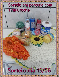 Sorteio Tina Croche 15/06