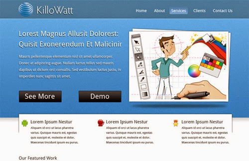 http://psdstyle.net/2011/03/09/killowatt-free-website-psd-template/