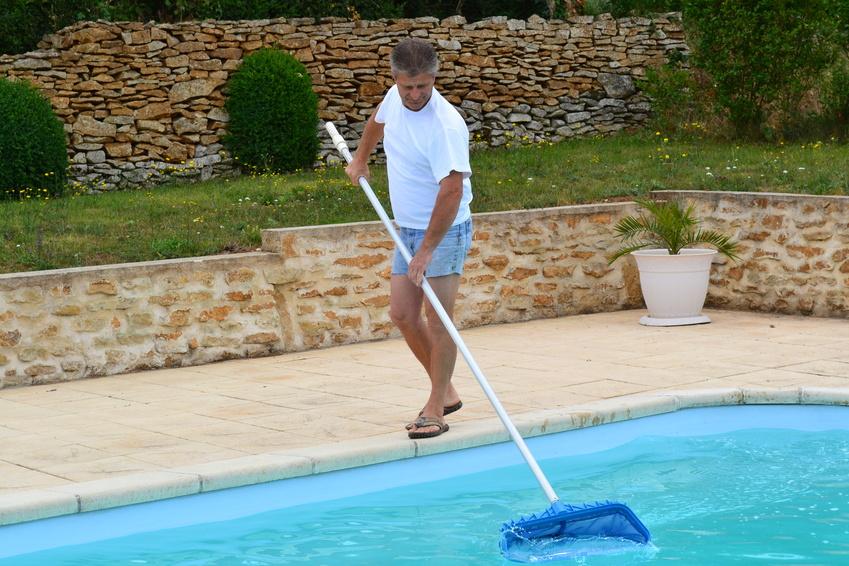 disparaître algue piscine