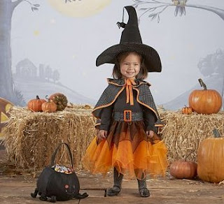 Toddler Witch Tutu Costume
