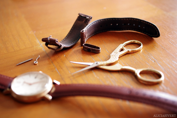 aliciasivert, alicia sivert, alicia sivertsson, klocka, clock, armbandsur, klockarmband