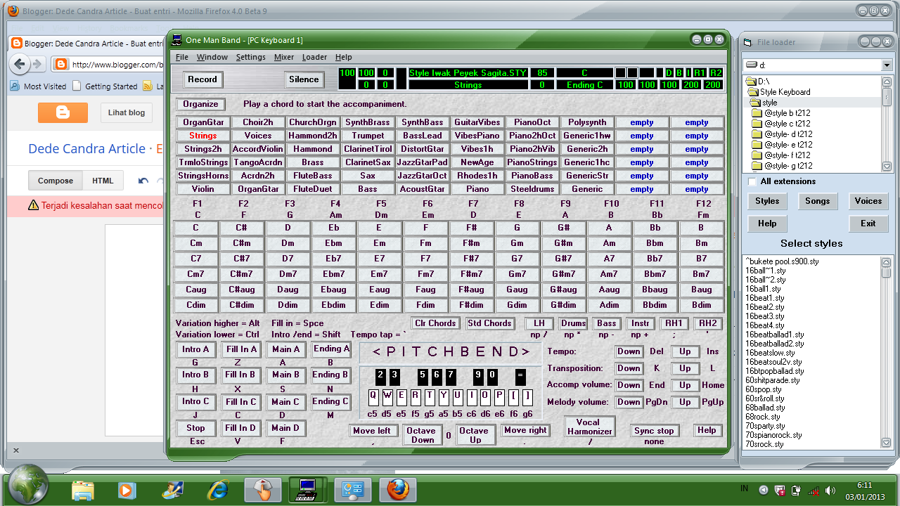 Pc keyboard piano software for Software di piano planimetrico