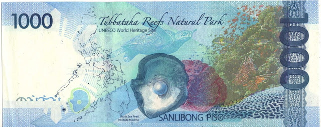 1,000 peso bill, New Generation banknotes, Philippine peso