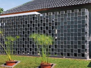 koran arsitektur dinding rooster berlubang pengganti pagar