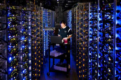Google server Data Center