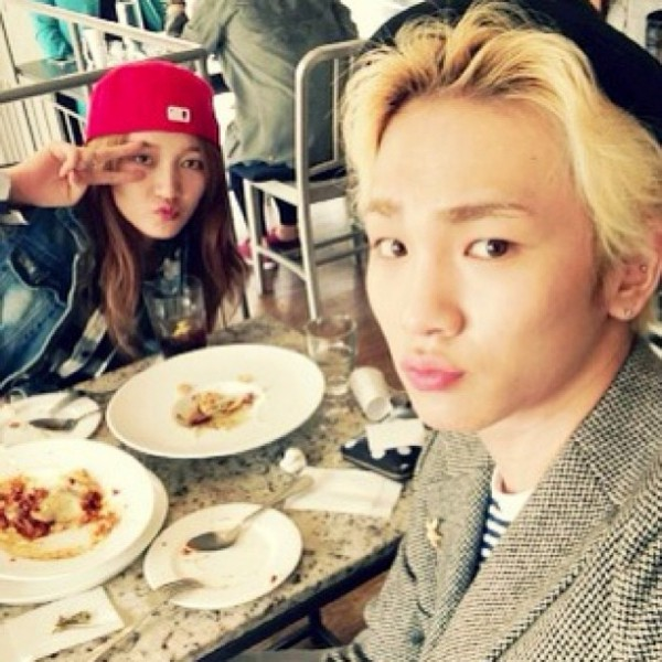 Jia Miss A & Key SHINee Lunch Date
